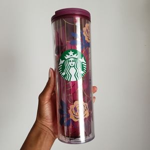 New Floral Starbucks Travel Cup